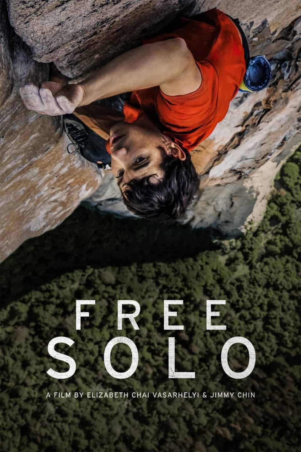 free solo movie flyer